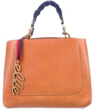 Clare Vivier Smooth Leather Satchel