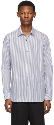 Ann Demeulemeester Black and White Riges Shirt