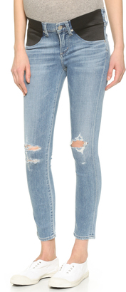 Citizens of Humanity Avedon Skinny Maternity Ankle Jeans $198 thestylecure.com