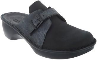 Naot Footwear Leather Buckle Clogs - Avignon