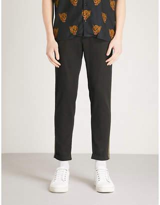 The Kooples Panel stripe cotton trousers