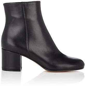 Gianvito Rossi Women's Margaux Leather Ankle Boots - Black