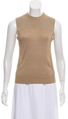 Lanvin Sleeveless Knit Top