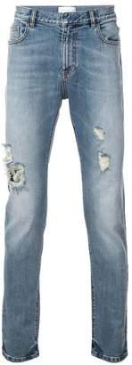Faith Connexion distressed slim fit jeans