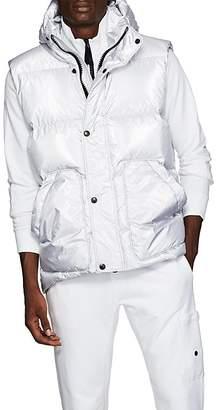 IENKI IENKI Men's Down-Quilted Oversized Vest