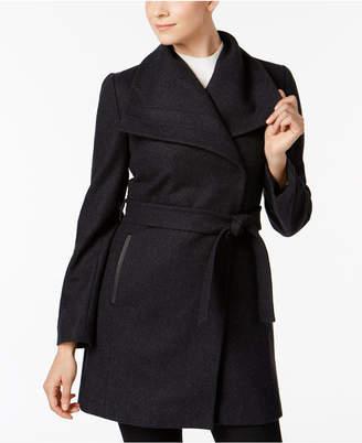 INC International Concepts I.n.c. Belted Wrap Coat