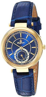 Burgmeister Women's Quartz Metal and Leather Casual Watch
