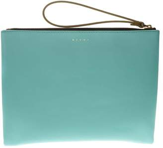 Marni Two Color Leather Clutch