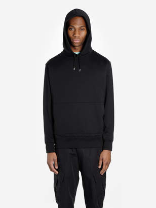 Stone Island Shadow SHADOW MEN'S BLACK HOODED SWEATSHIRT