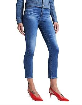 AG Adriano Goldschmied Isabelle High Rise Straight Leg Jean