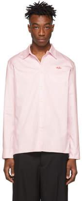 Anton Belinskiy Pink Embroidered Logo Shirt