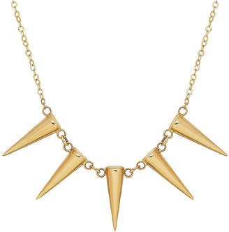 FINE JEWELRY Womens 17 Inch 14K Gold Link Necklace