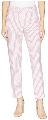 Nine West Skinny Seersucker Pants Women's Casual Pants