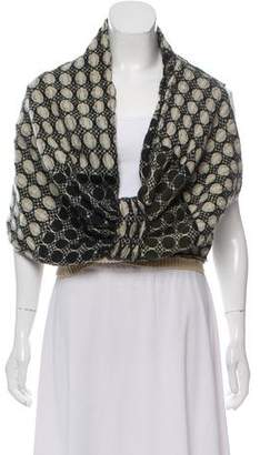 Dries Van Noten Patterned Wool Shawl