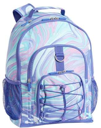 Pottery Barn Teen Gear-Up Pink/Purple Marble Backpack