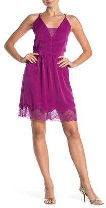 Sugar Lips Sugarlips Maren Lace Trim Cami Dress