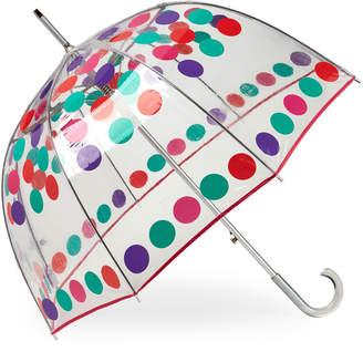 totes Printed Bubble Auto Stick Umbrella