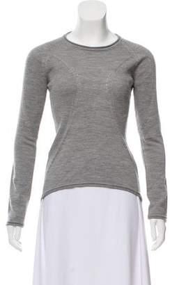 Issey Miyake Wool Long Sleeve Top