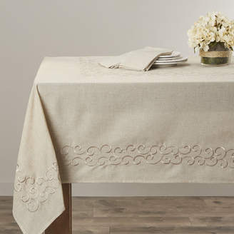 Lark Manor Jean Scroll Design Tablecloth