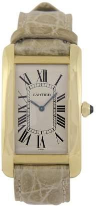 Cartier Tank Américaine yellow gold watch