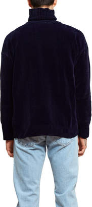Our Legacy Velvet Turtleneck Sweater