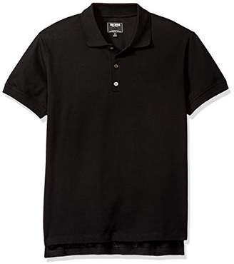 Todd Snyder Men's Cotton Silk Pique Polo Shirt