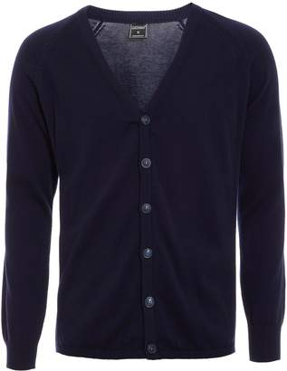 Next Mens Quizman Button Through Cardigan
