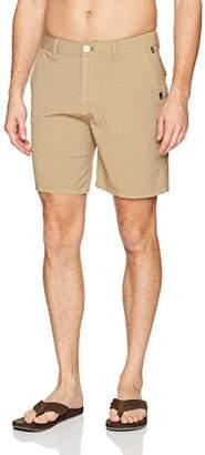 Quiksilver Men's Echo Surfwash Amphibian 18 Hybrid Shorts