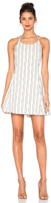 J.O.A. Stripe Mini Dress $100 thestylecure.com