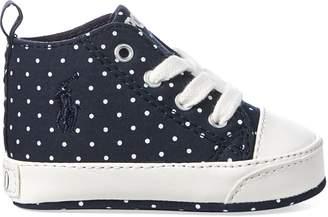 Ralph Lauren Hamptyn Polka-Dot Sneaker