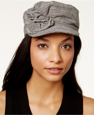 Collection XIIX Flower Military Cap $24 thestylecure.com