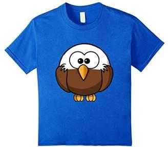 American Bald Eagle Cartoon Shirt Birdwatching T-Shirt