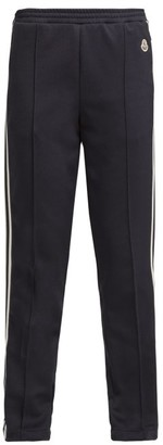 Moncler Taped Side Technical Track Pants - Womens - Navy