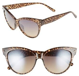 BP 56mm Print Cat Eye Sunglasses