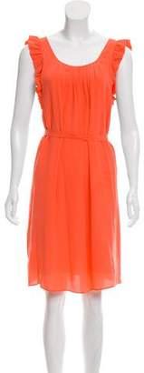 Comptoir des Cotonniers Silk Knee-Length Dress