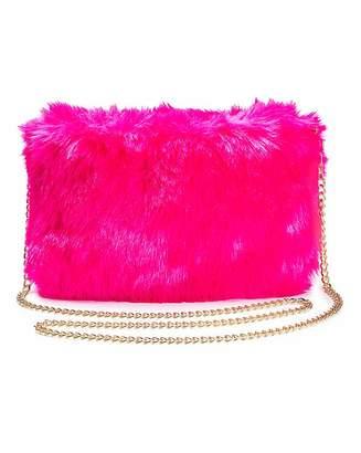 Neon Fluffy Shoulder Bag