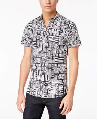 Armani Exchange Men's Logo Shirt