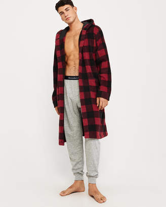 Abercrombie & Fitch Fleece Robe