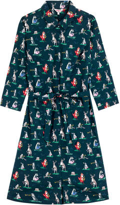 Cath Kidston Animal Band Crisp Cotton Shirt Dress