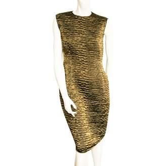 Lanvin Gold Polyester Dresses