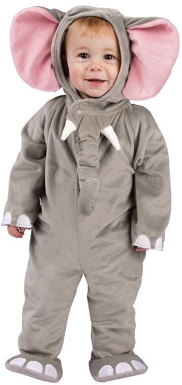 Cuddly elephant costume - baby/toddler