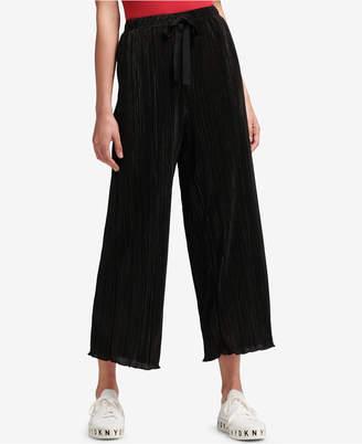 DKNY Pleated Pull-On Pants