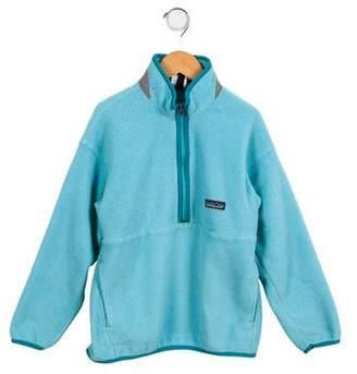Patagonia Boys' Fleece Logo Pullover
