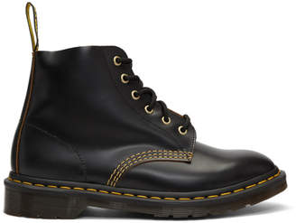 Dr. Martens Black 101 Vintage Smooth Boots