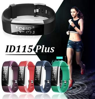 MECO ID115 Plus bluetooth Smart Watch Wrist Band Pedometer Fitness Bracelet Watch Waterproof Activity Tracking Alarm Call SMS SNS Alert Christmas Presents For Your Friend