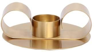 Paola C Tramonto Brass Candlestick