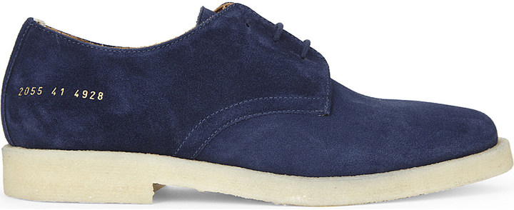 Common ProjectsCommon Projects Cadet suede Derby shoes