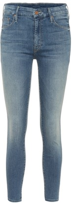 Mother Looker high-rise skinny jeans