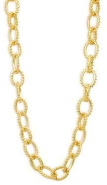 Freida Rothman Textured Heavy Link Necklace