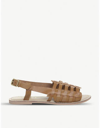 Office Saviour leather sandals